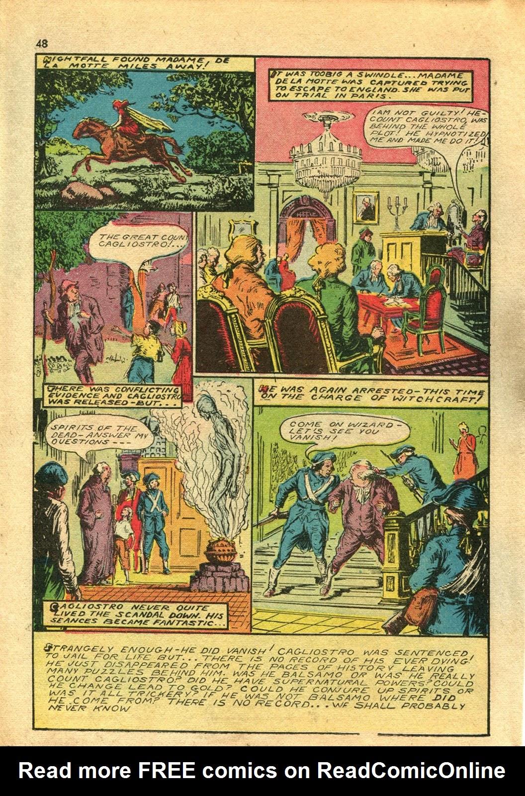 Read online Super-Magician Comics comic -  Issue #14 - 47