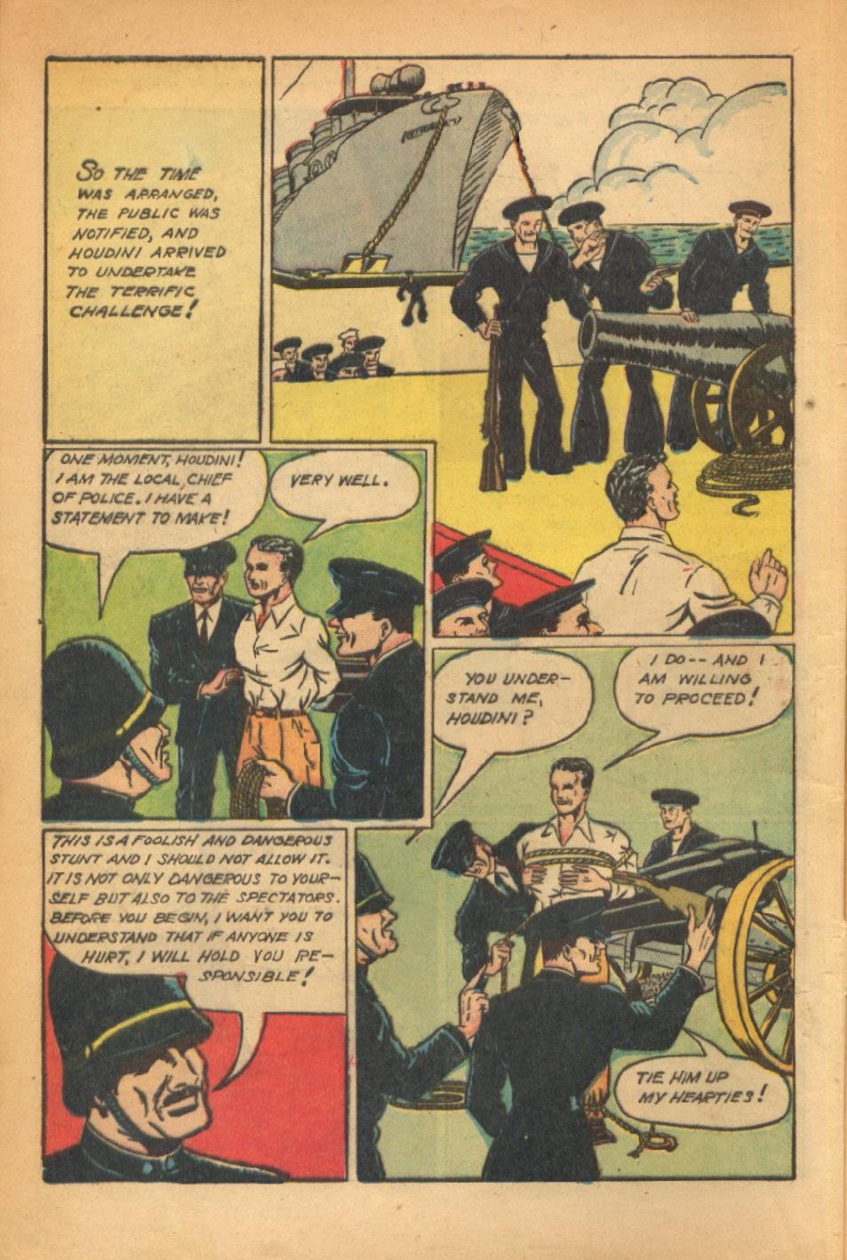 Read online Super-Magician Comics comic -  Issue #54 - 7