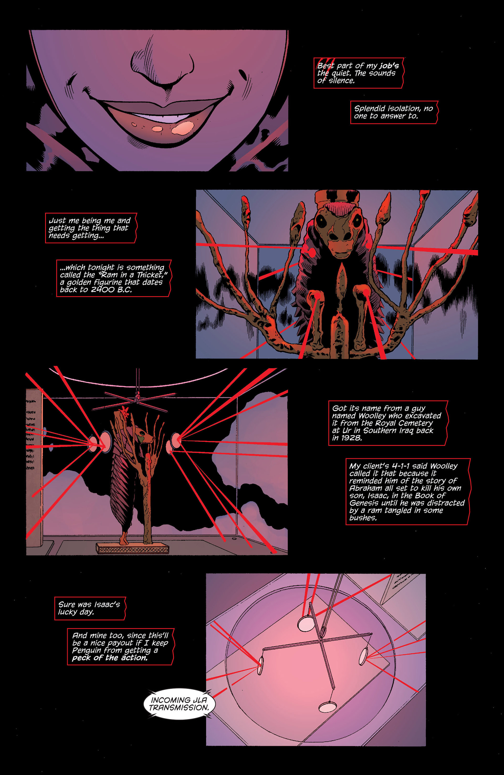 Read online Batman and Robin (2011) comic -  Issue #22 - Batman and Catwoman - 2