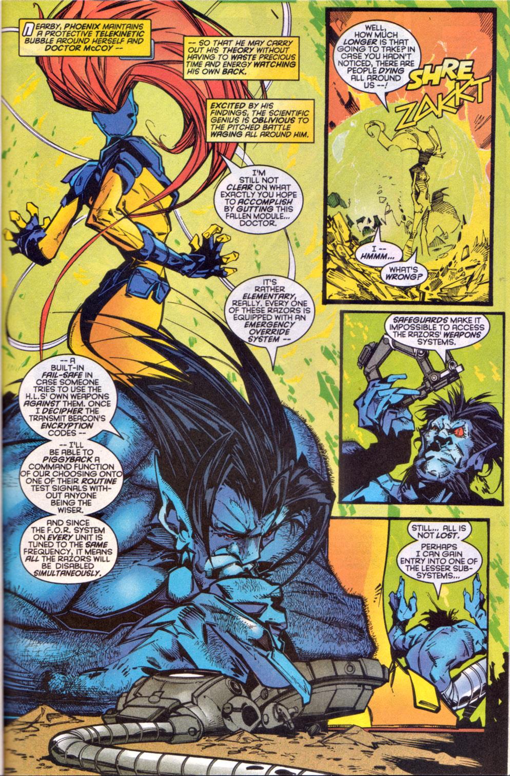 Read online Uncanny X-Men (1963) comic -  Issue # _Annual 1997 - 26