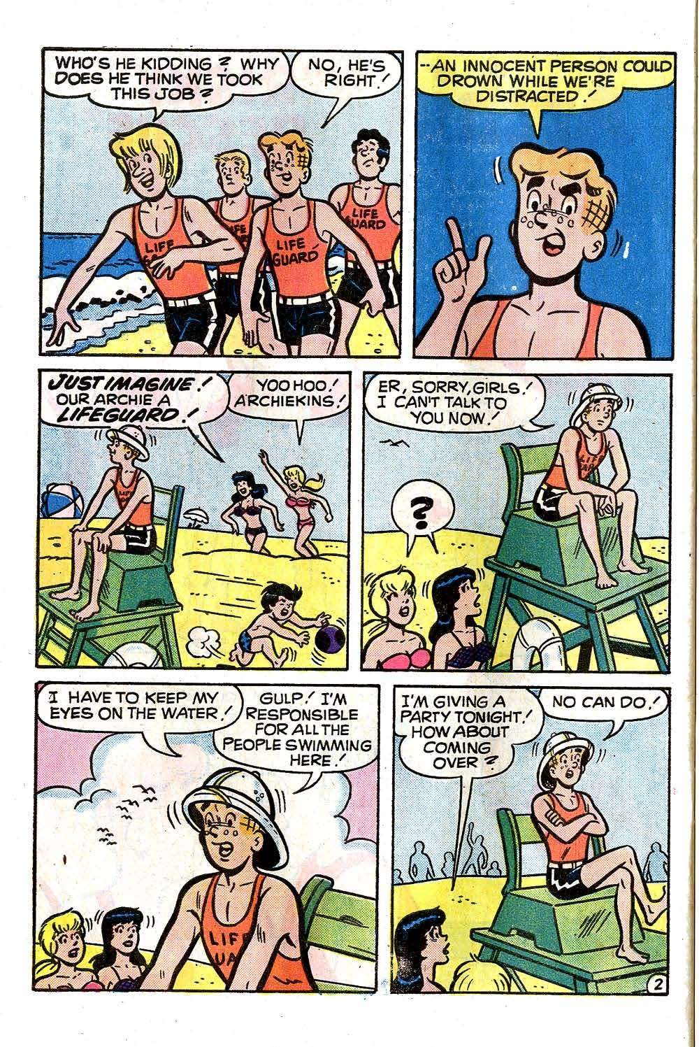 Read online Archie (1960) comic -  Issue #257 - 30
