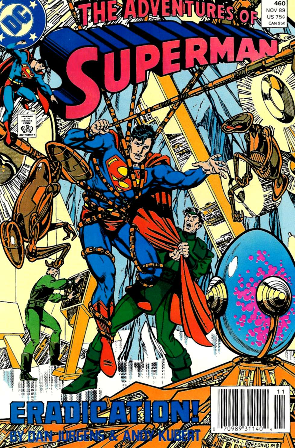 Read online Adventures of Superman (1987) comic -  Issue #460 - 1