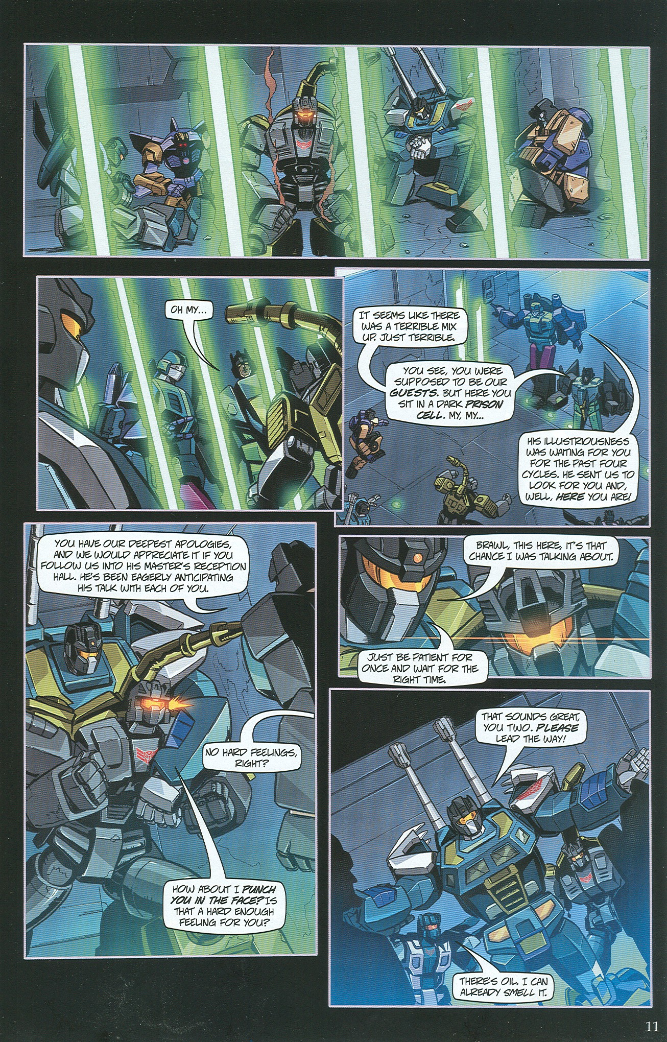 Read online Transformers: Collectors' Club comic -  Issue #34 - 11