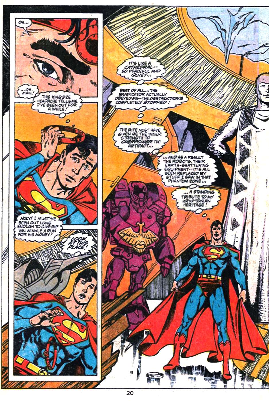 Read online Adventures of Superman (1987) comic -  Issue #461 - 21