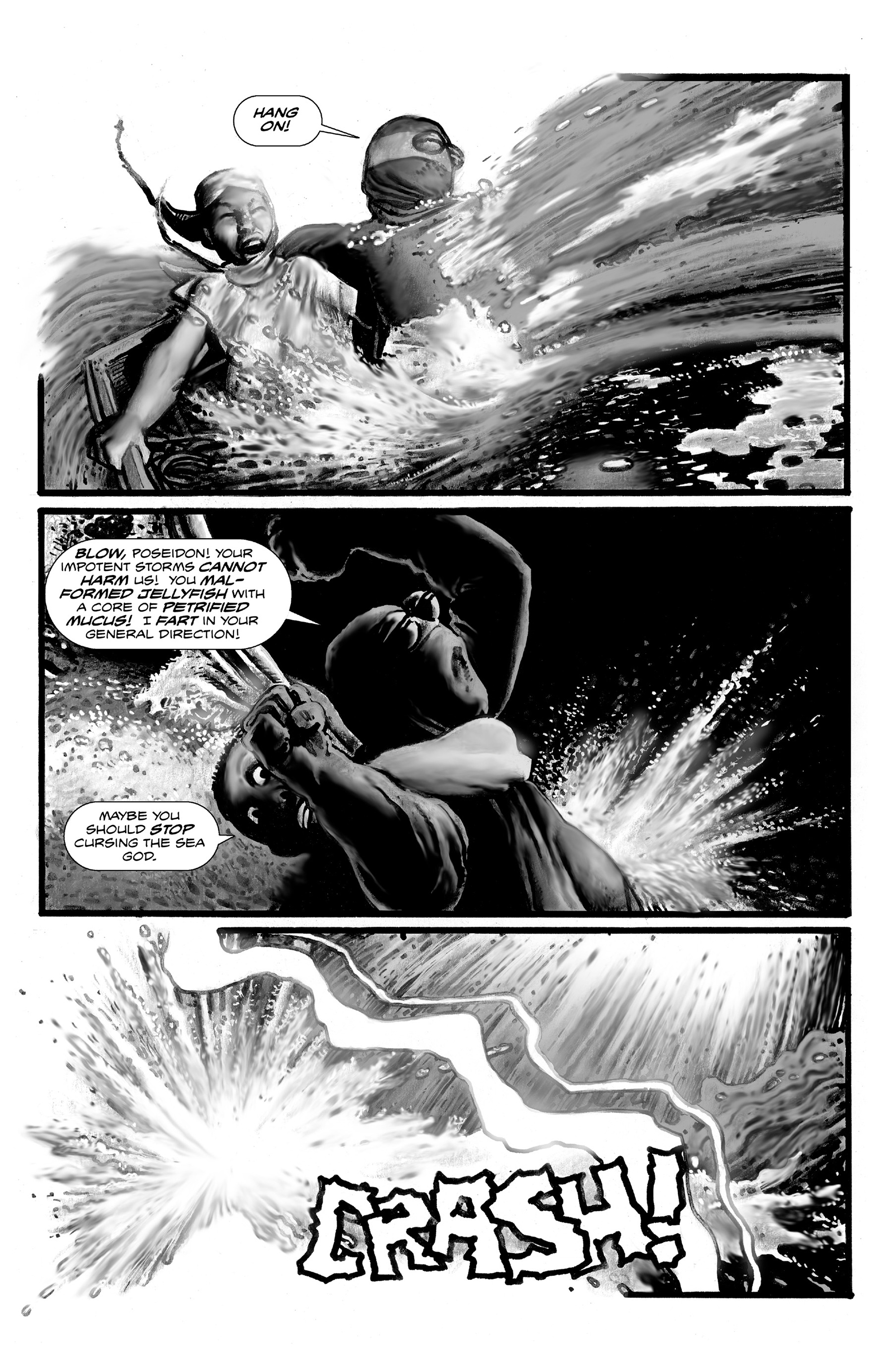 Read online Shadows on the Grave comic -  Issue #3 - 31