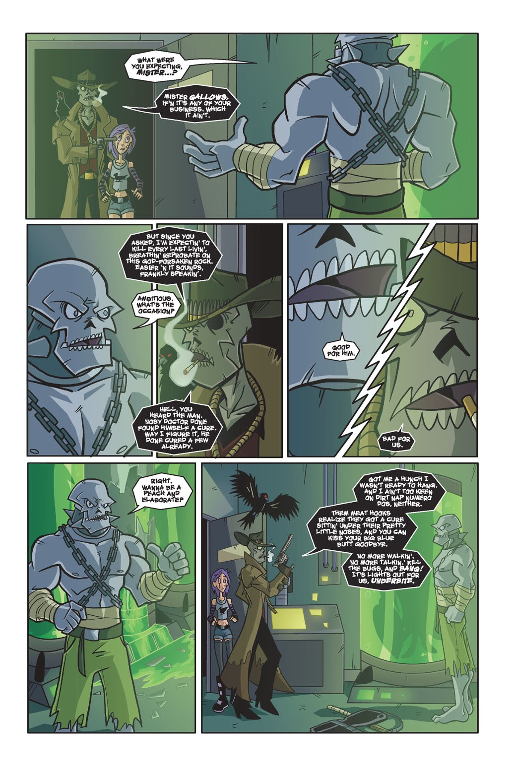 Read online Xombie Reanimated comic -  Issue #4 - 22