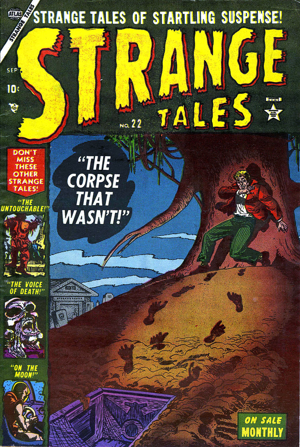 Strange Tales (1951) issue 22 - Page 1