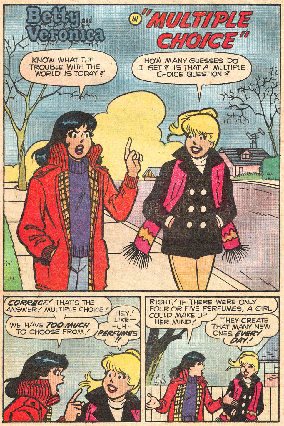 Read online Archie's Girls Betty and Veronica comic -  Issue #278 - 20