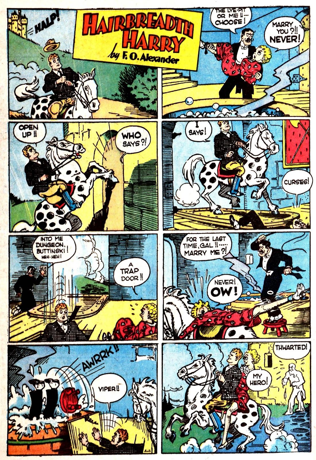Read online Famous Funnies comic -  Issue #87 - 20
