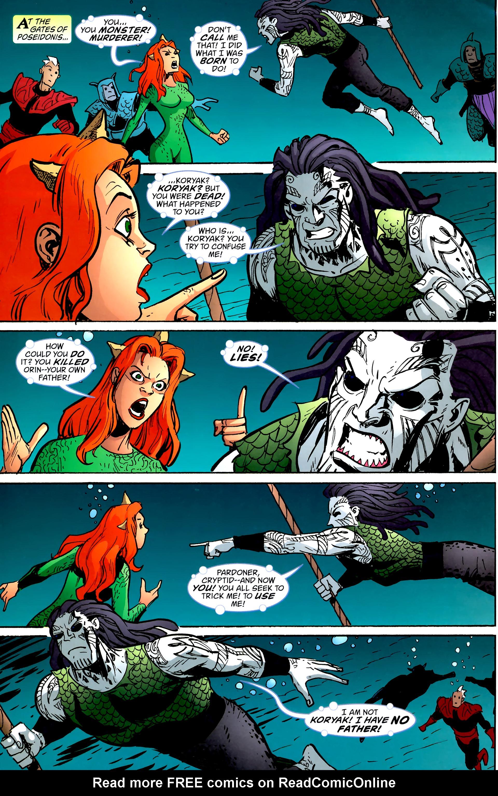 Read online Aquaman: Sword of Atlantis comic -  Issue #57 - 21