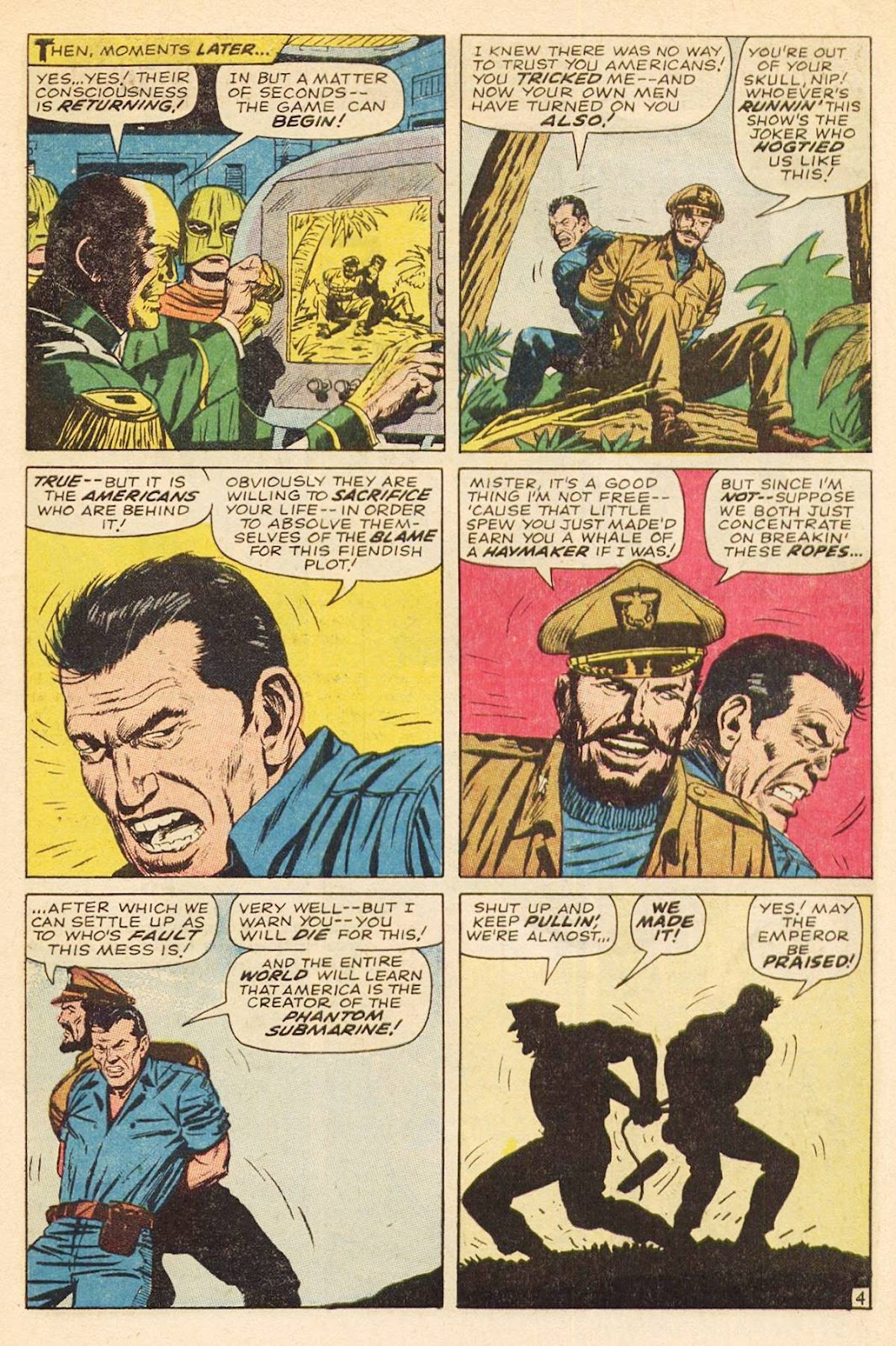 Captain Savage and his Leatherneck Raiders issue 3 - Page 7
