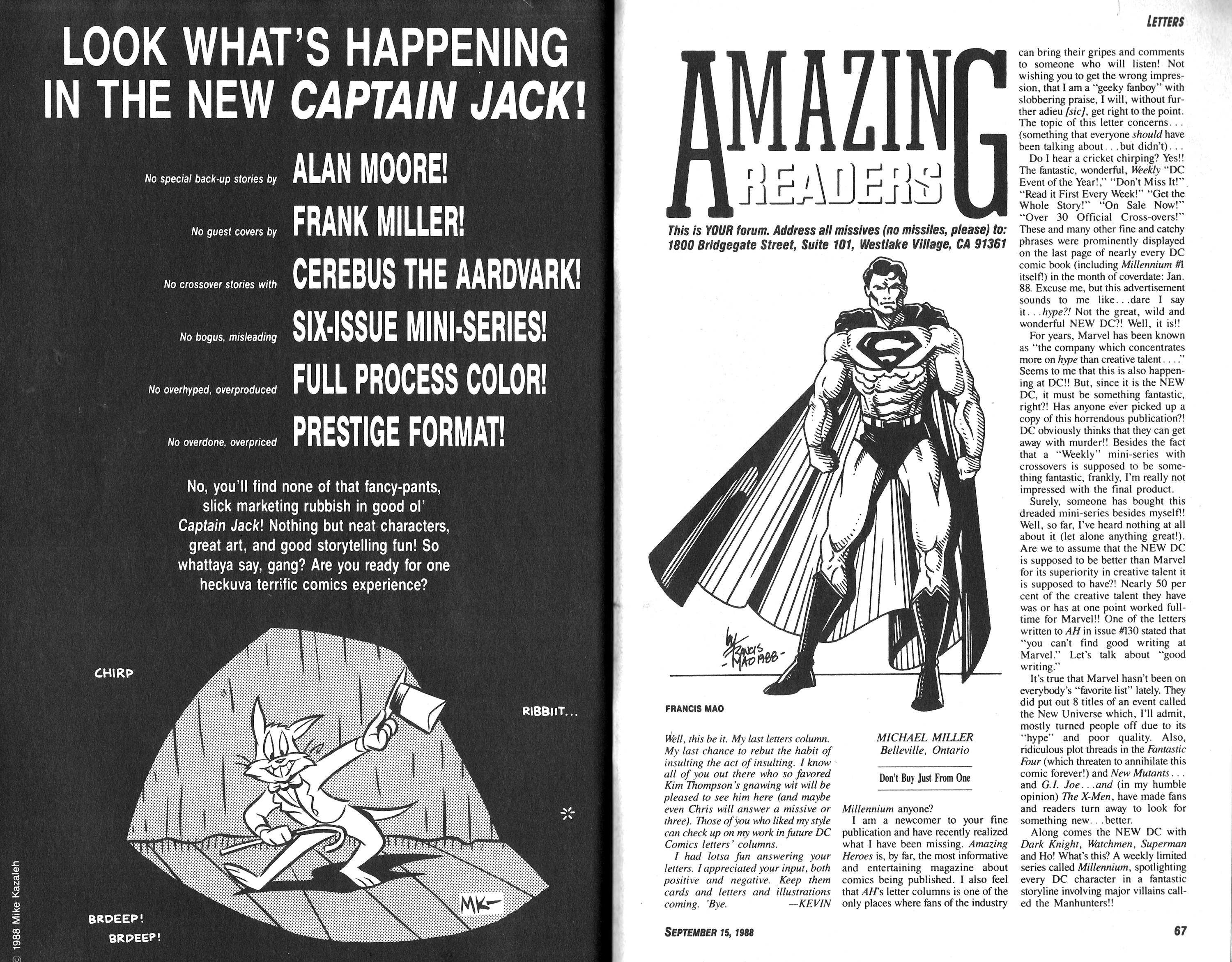 Read online Amazing Heroes comic -  Issue #149 - 34