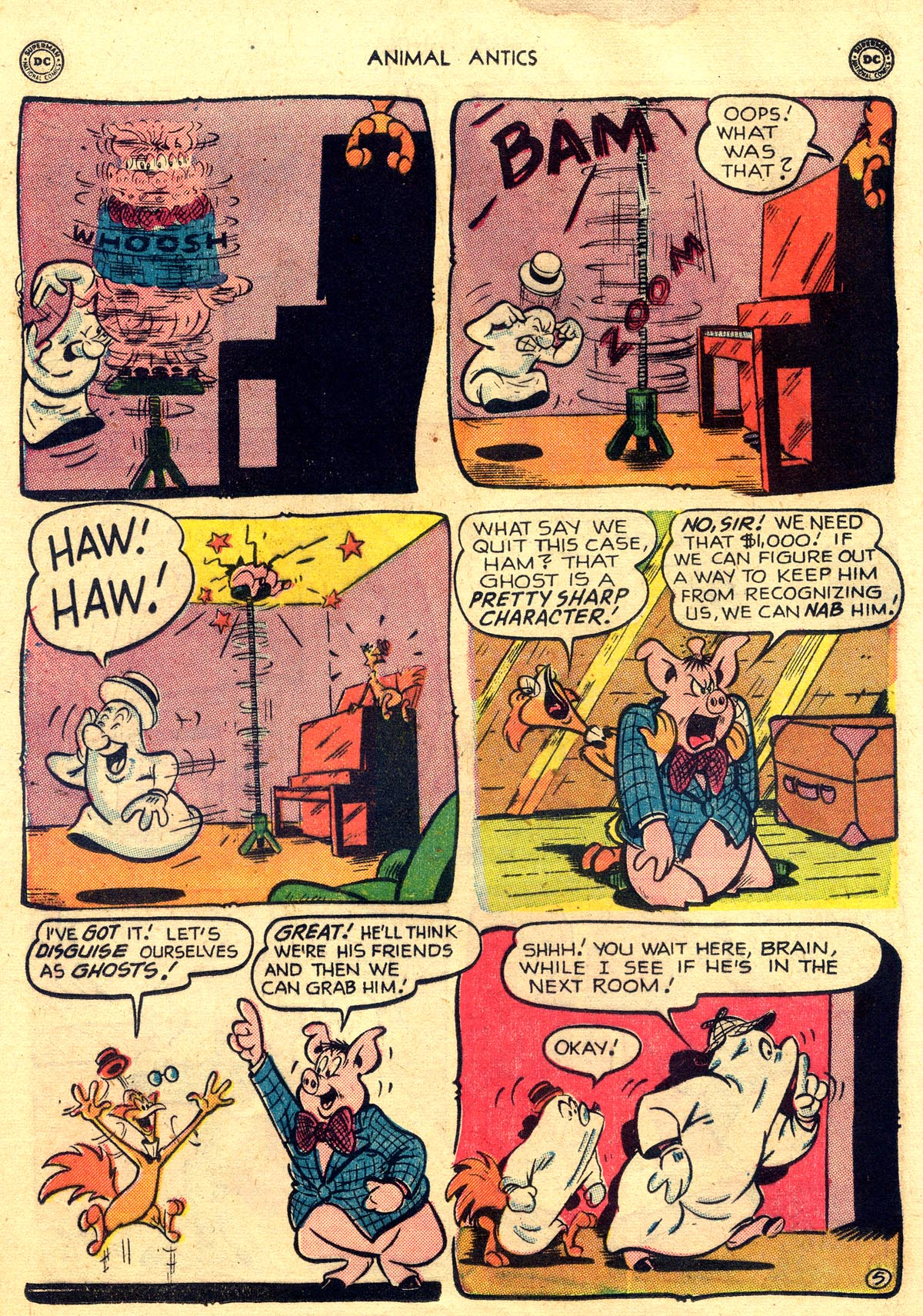 Read online Animal Antics comic -  Issue #26 - 22