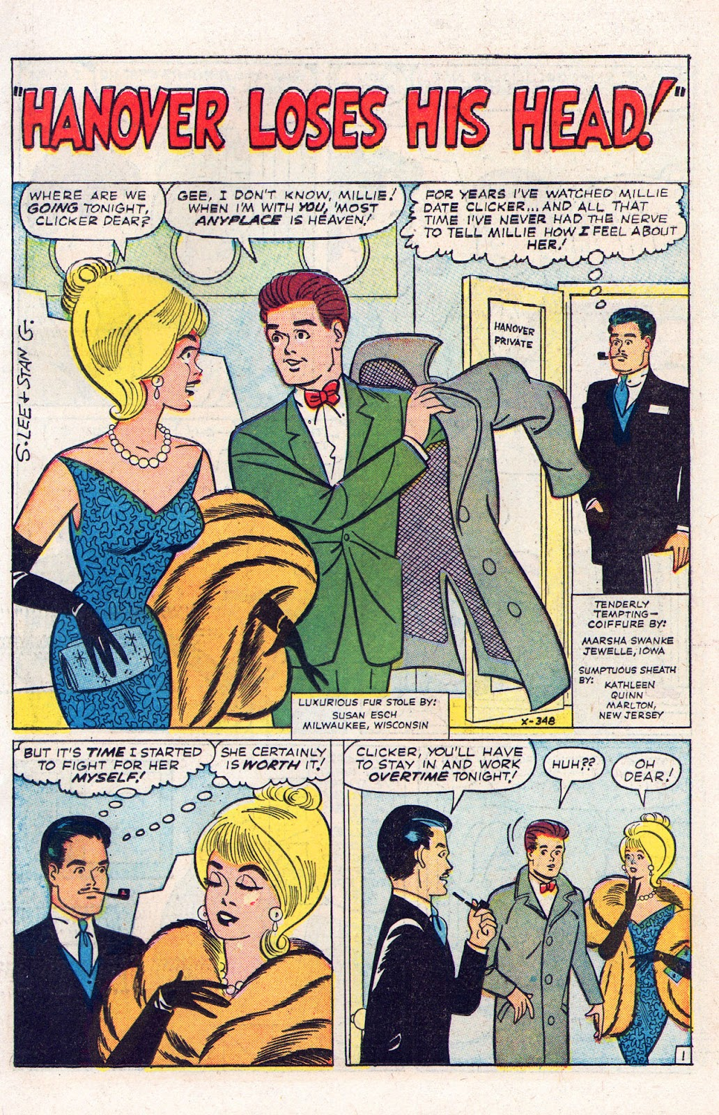 Read online Millie the Model comic -  Issue # Annual 2 - 51