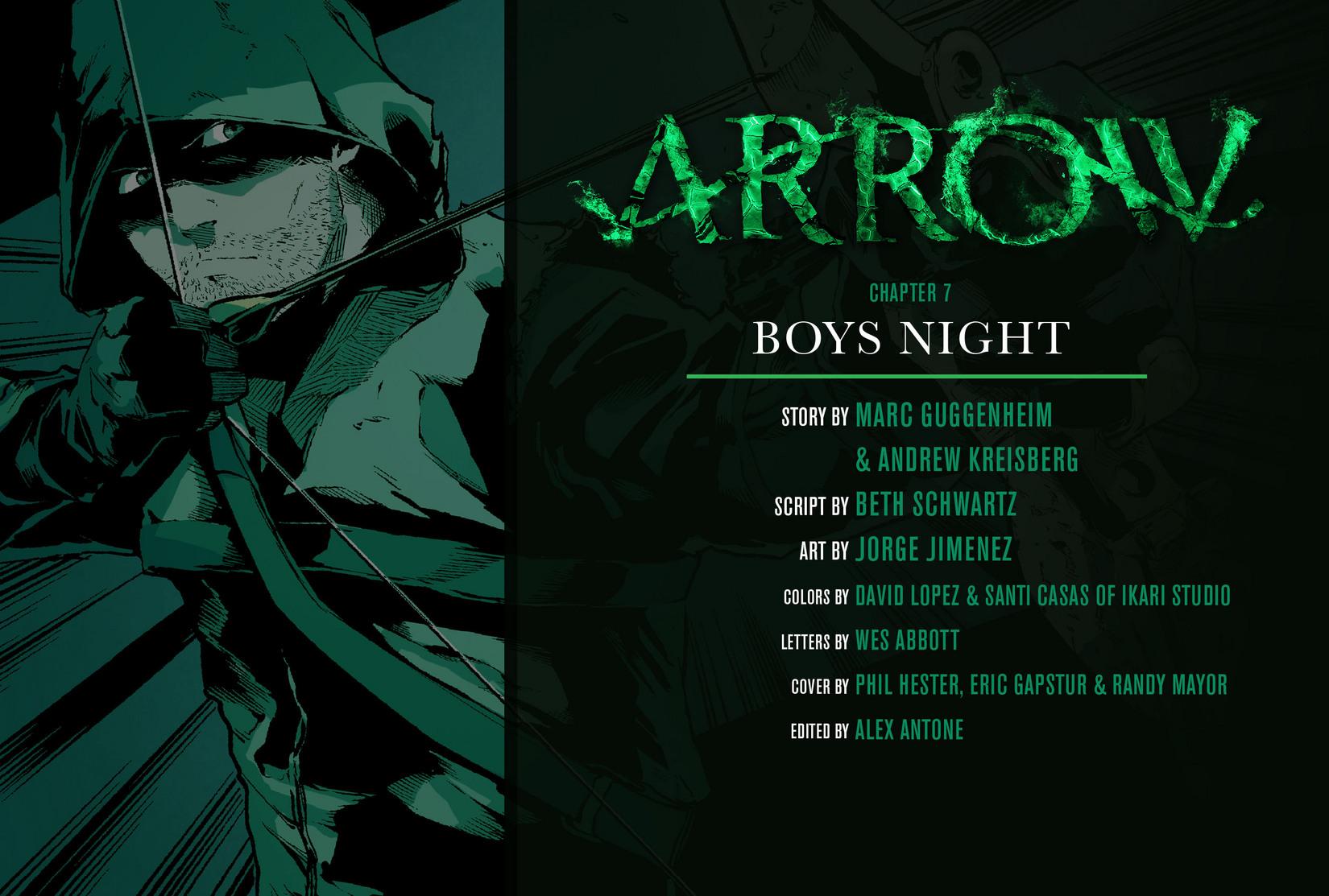 Read online Arrow [II] comic -  Issue #7 - 2