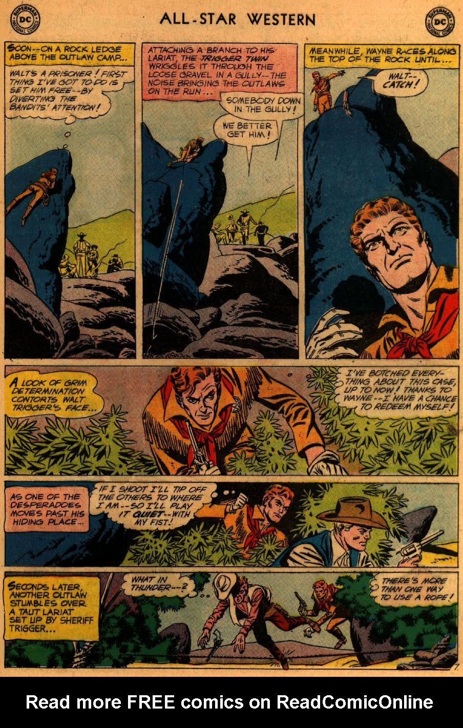 Read online All-Star Western (1951) comic -  Issue #107 - 32
