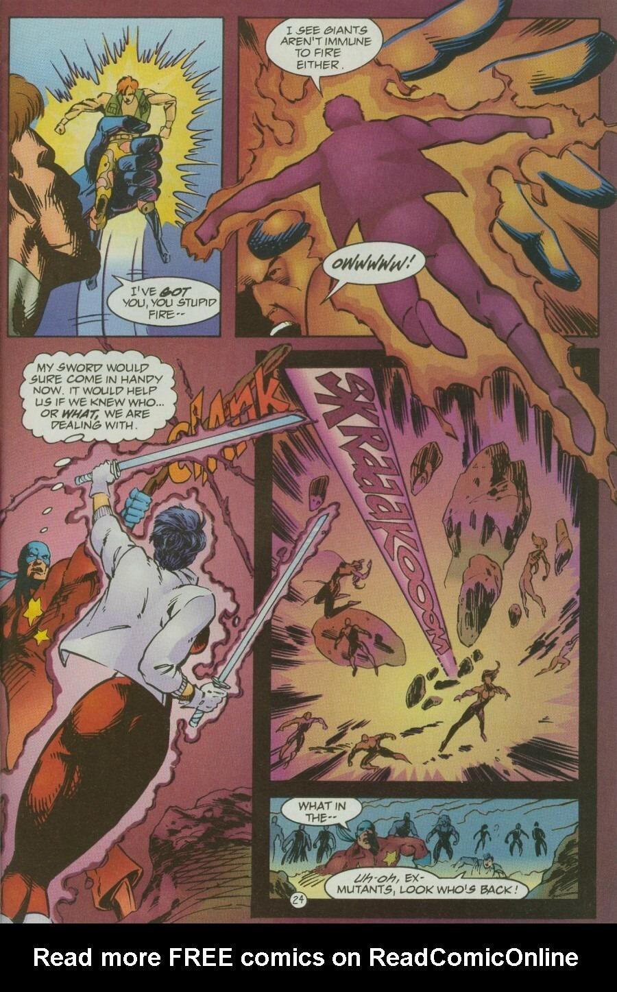 Read online Ex-Mutants comic -  Issue #12 - 28