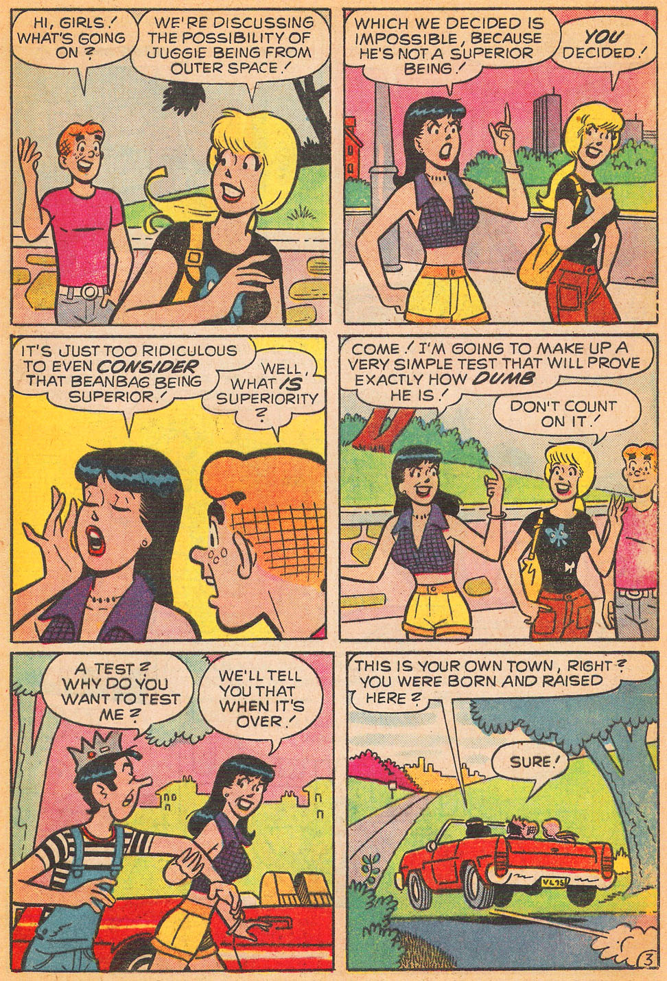 Read online Archie's Girls Betty and Veronica comic -  Issue #240 - 5