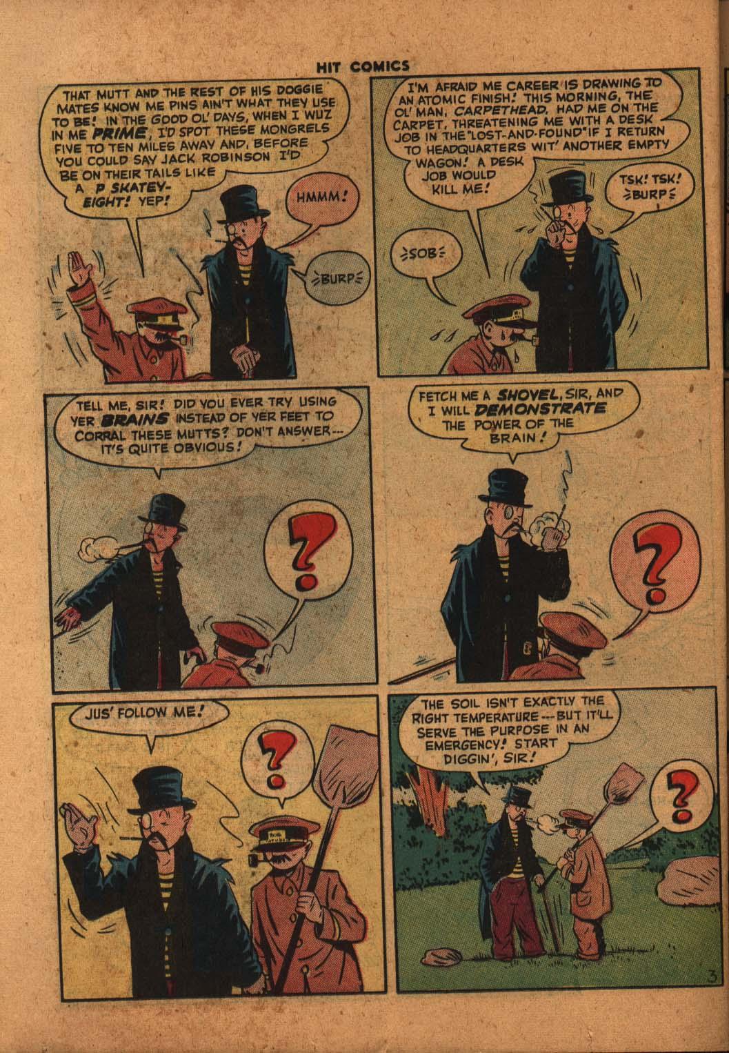 Read online Hit Comics comic -  Issue #47 - 33