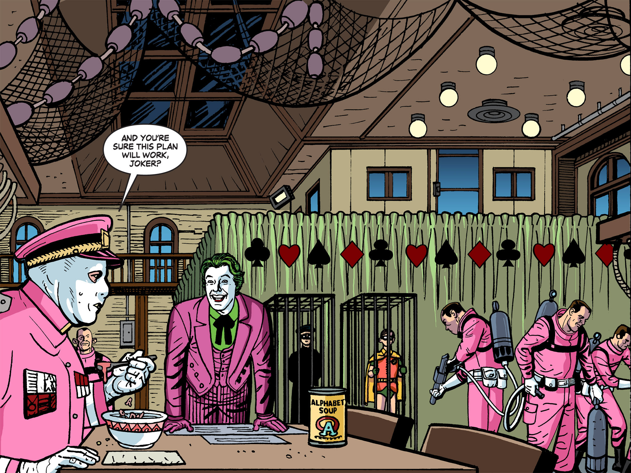 Read online Batman '66 Meets the Green Hornet [II] comic -  Issue #5 - 82