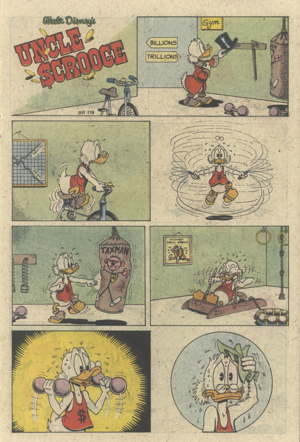 Read online Uncle Scrooge (1953) comic -  Issue #227 - 15