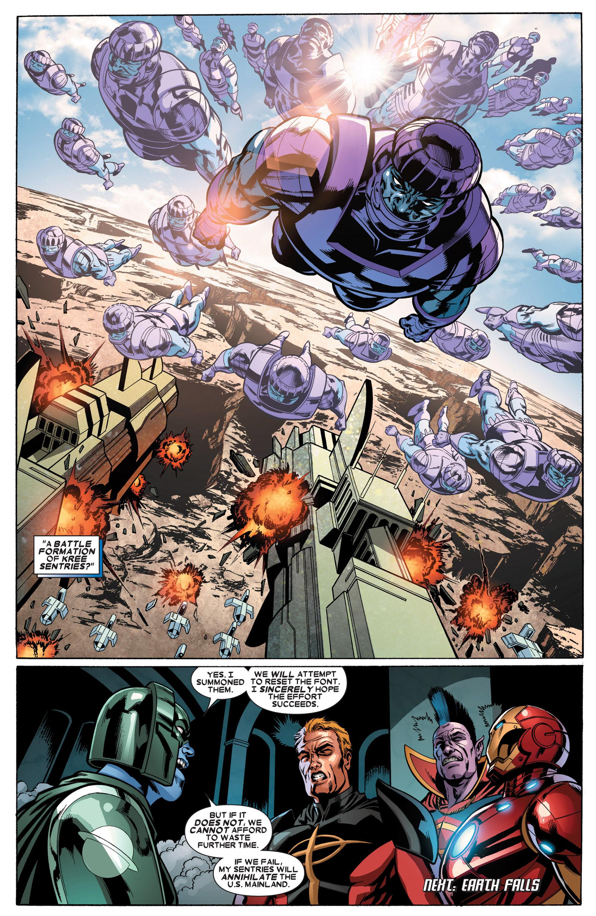 Read online Annihilators: Earthfall comic -  Issue #3 - 21