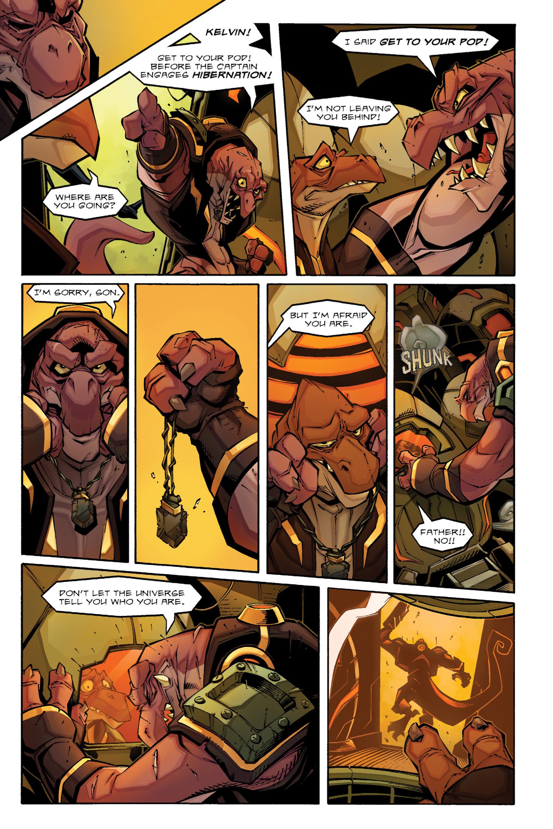 Read online Rexodus comic -  Issue # Full - 12