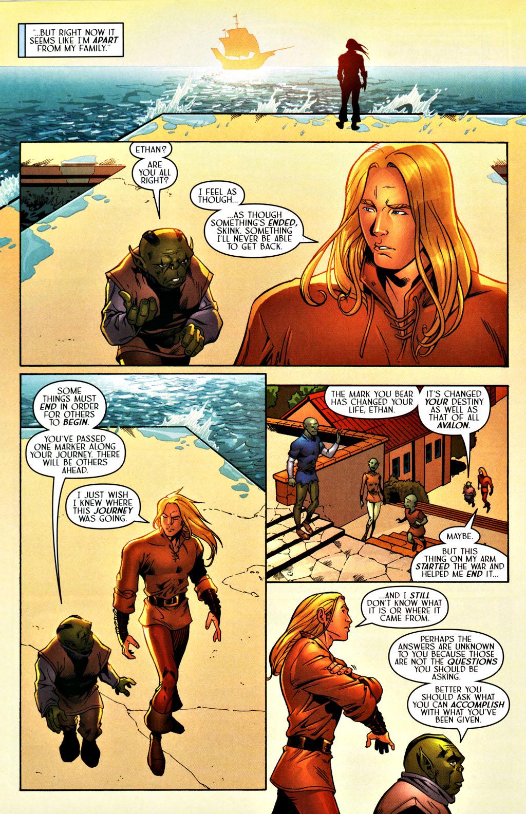 Read online Scion comic -  Issue #27 - 11