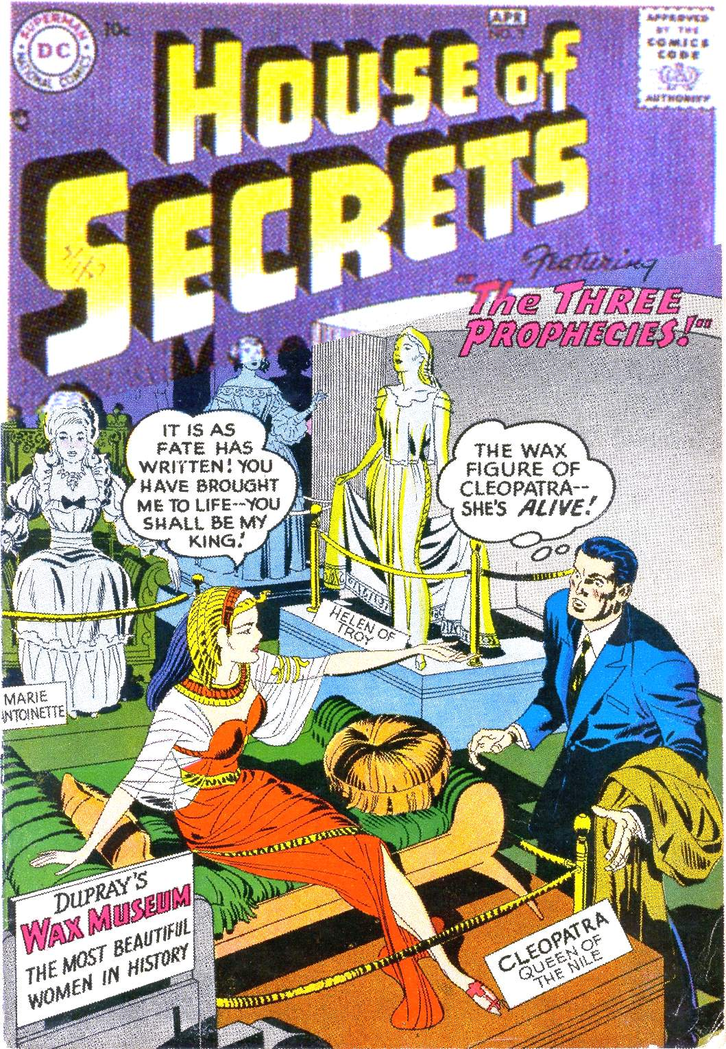 House of Secrets (1956) issue 3 - Page 1