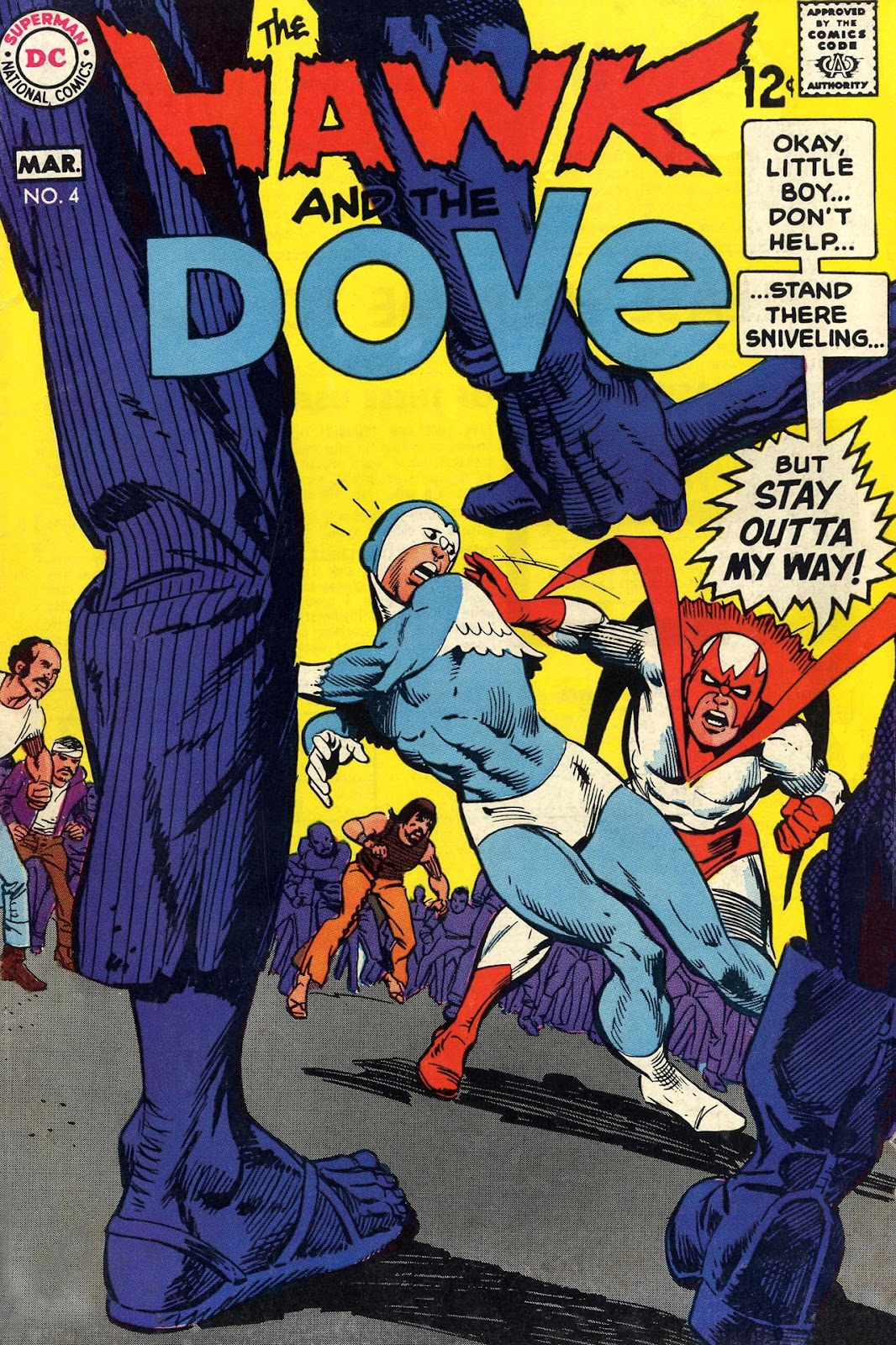 The Hawk and the Dove 4 Page 1