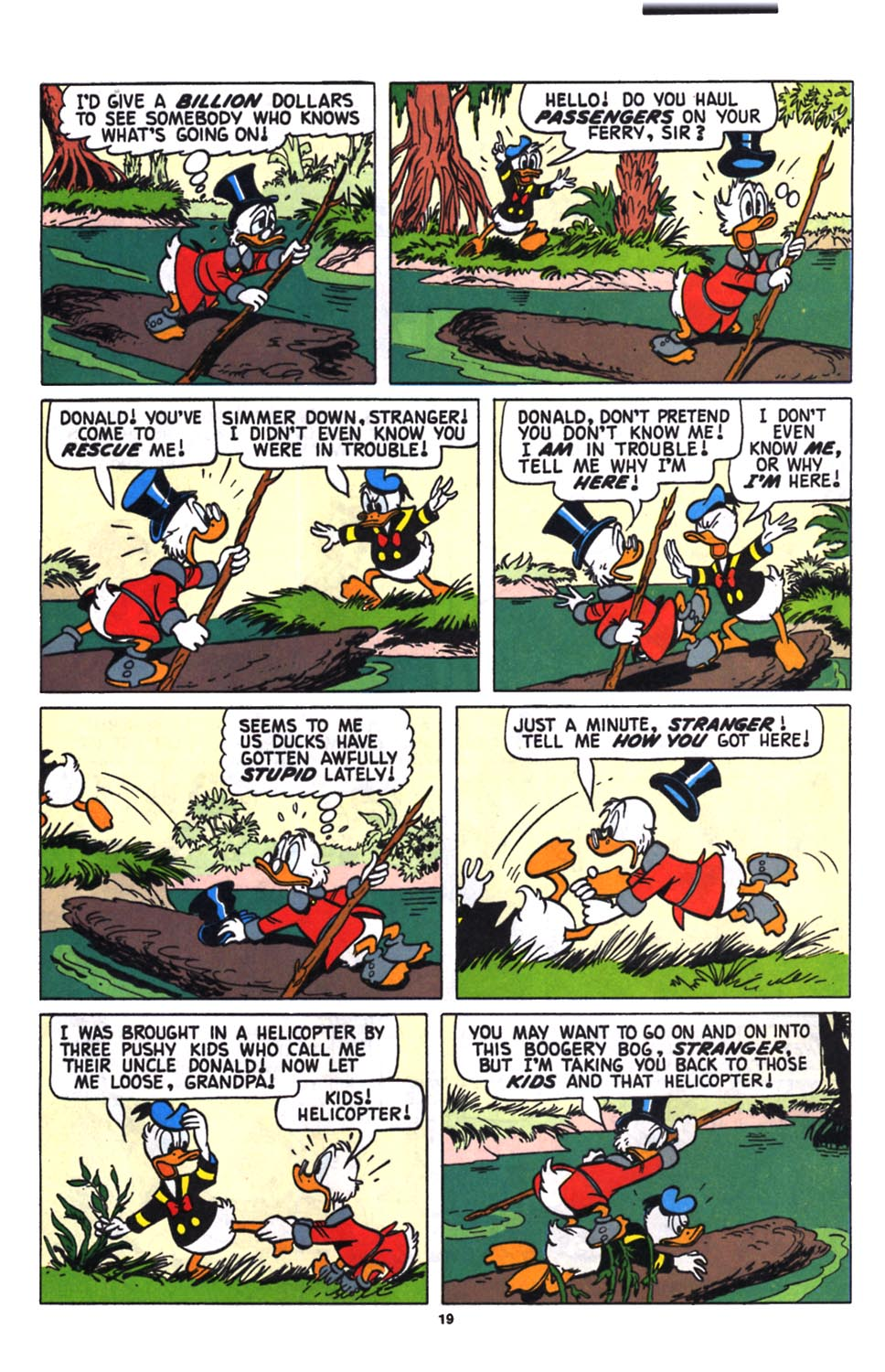 Read online Uncle Scrooge (1953) comic -  Issue #258 - 21