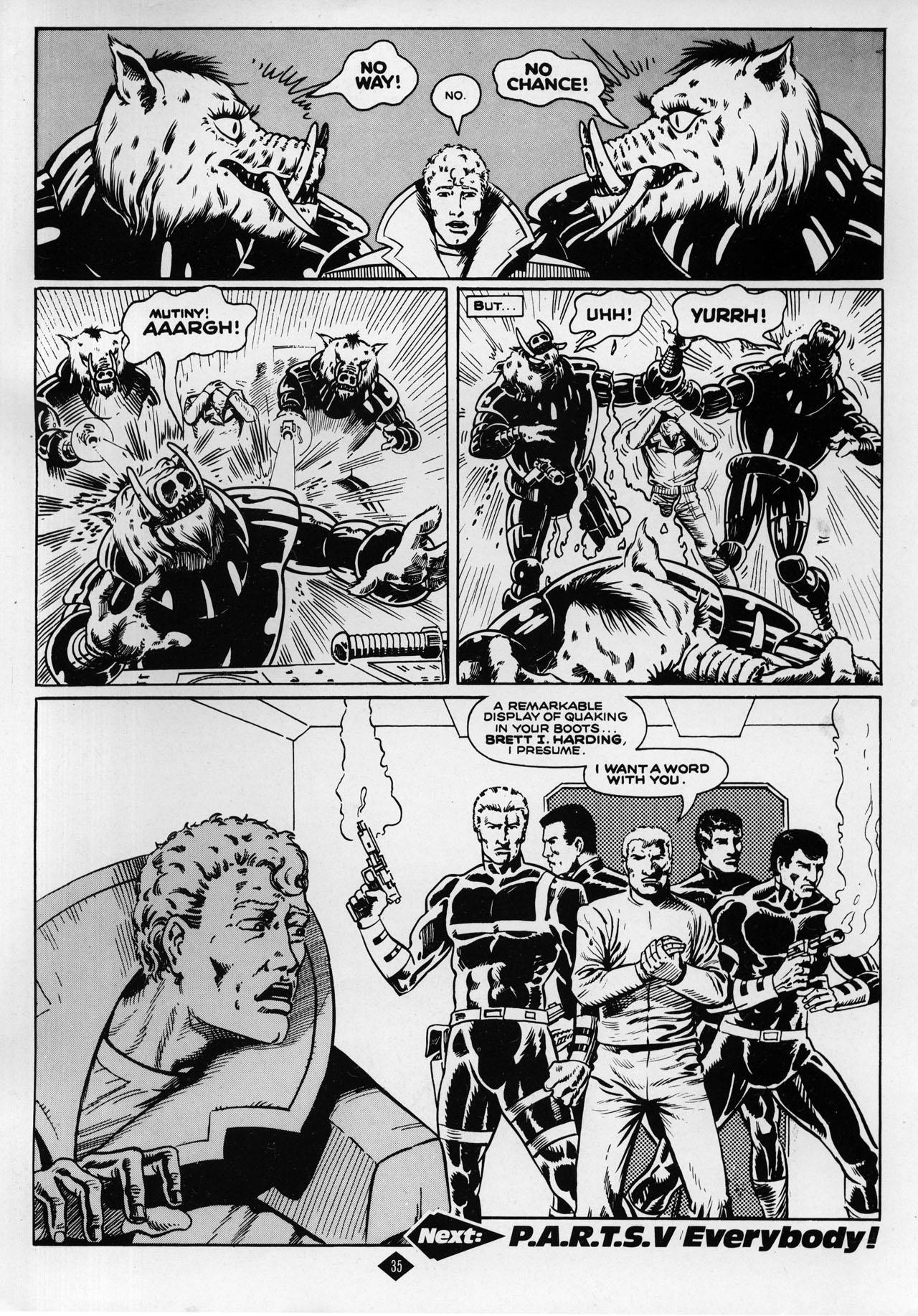Captain Britain (1985) 8 Page 35
