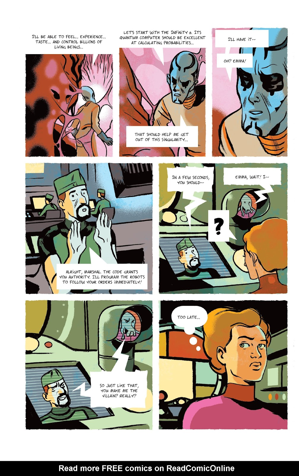 Read online Infinity 8 comic -  Issue #9 - 23