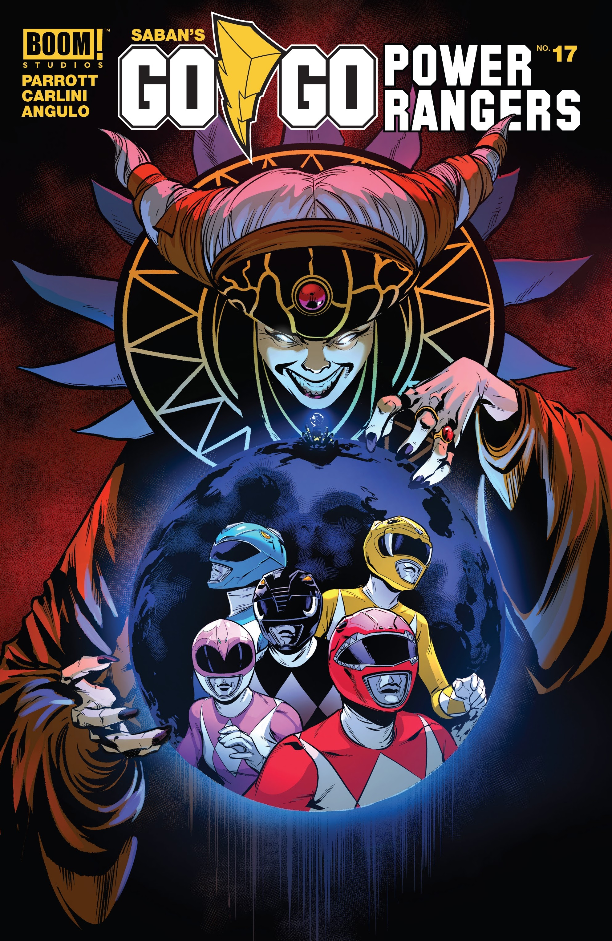 Sabans Go Go Power Rangers 17 Page 1