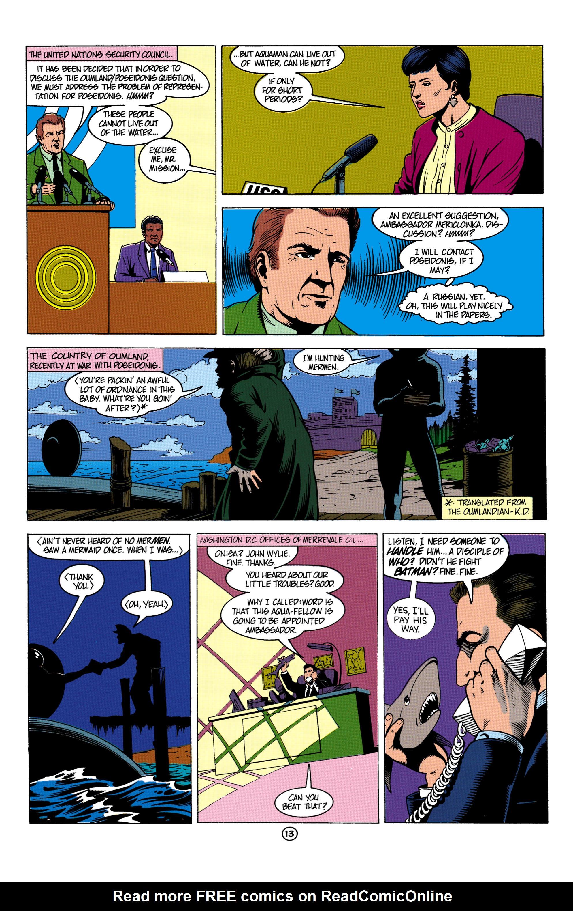 Read online Aquaman (1991) comic -  Issue #4 - 14