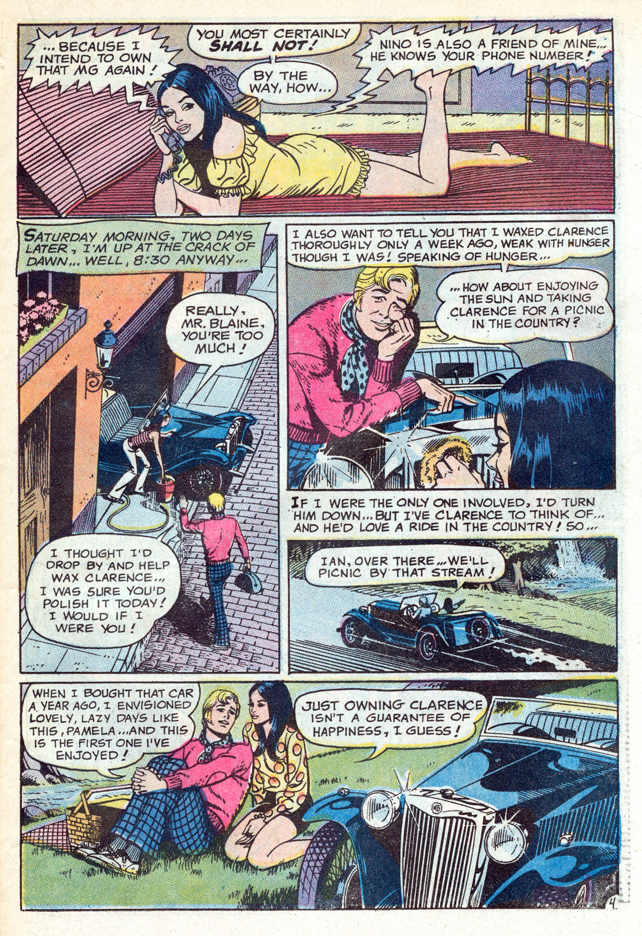 Read online Secret Hearts comic -  Issue #149 - 23