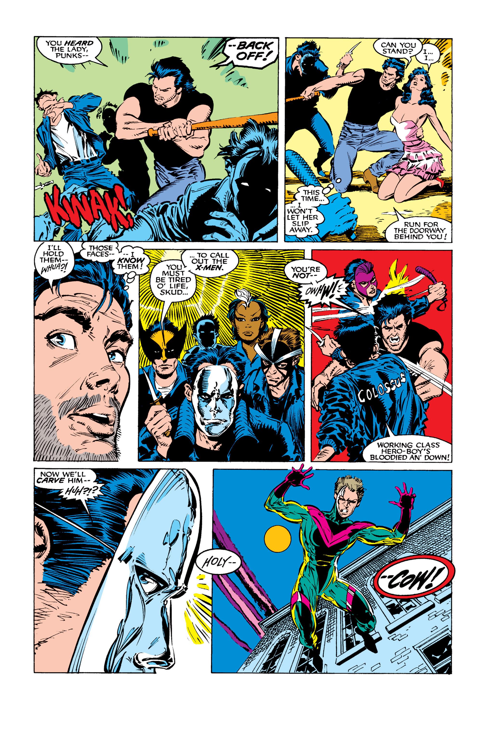 Read online Uncanny X-Men (1963) comic -  Issue #260 - 11