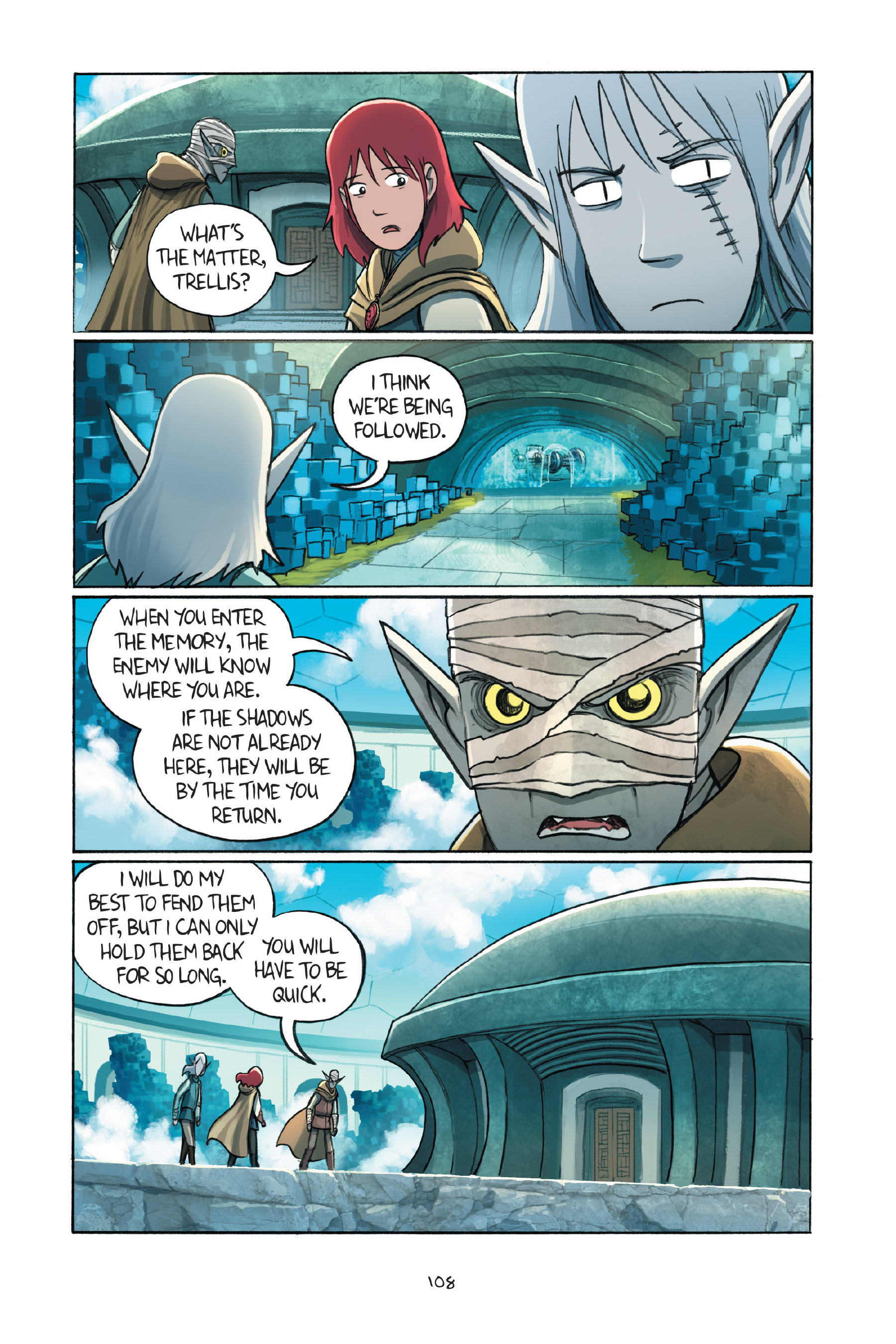 Read online Amulet comic -  Issue #7 - 108