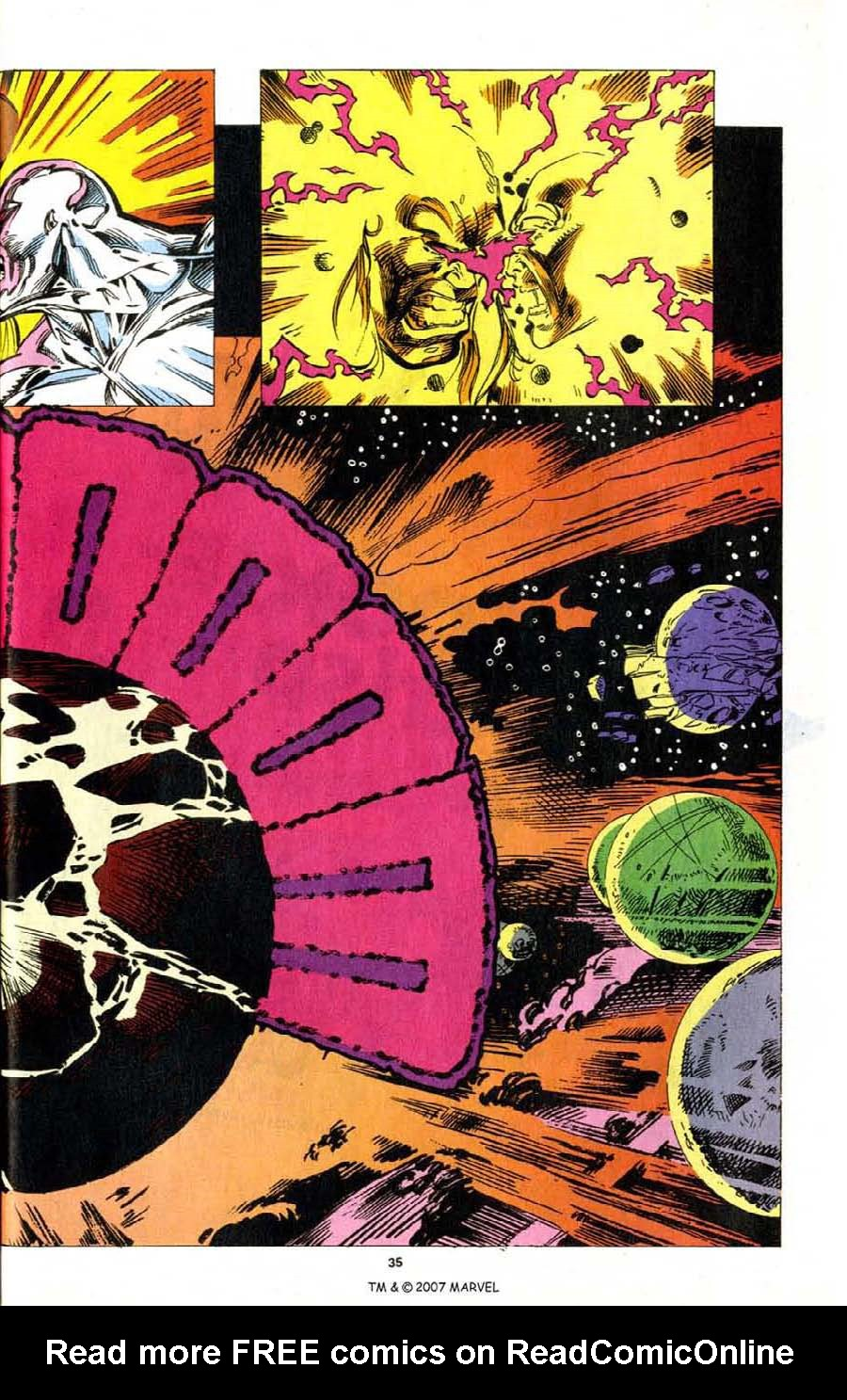 Read online Silver Surfer (1987) comic -  Issue # _Annual 7 - 37
