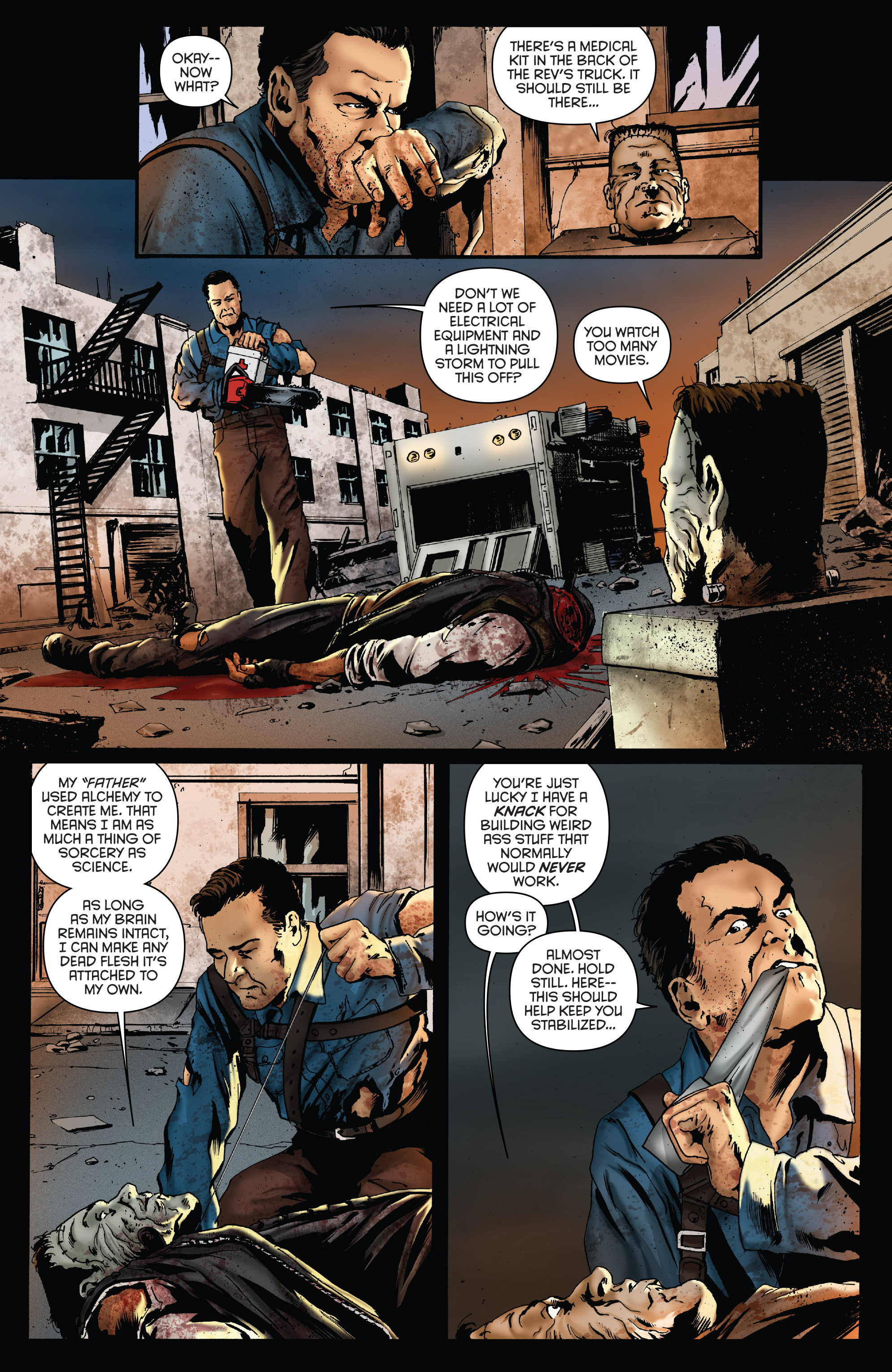 Read online Army of Darkness: Furious Road comic -  Issue #5 - 6