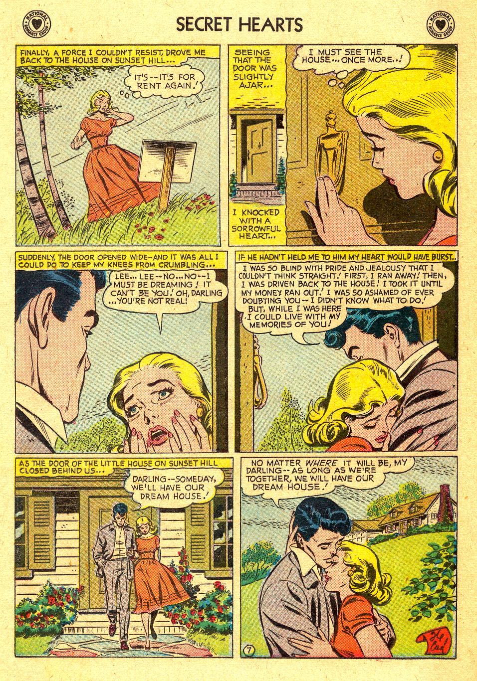 Read online Secret Hearts comic -  Issue #45 - 16