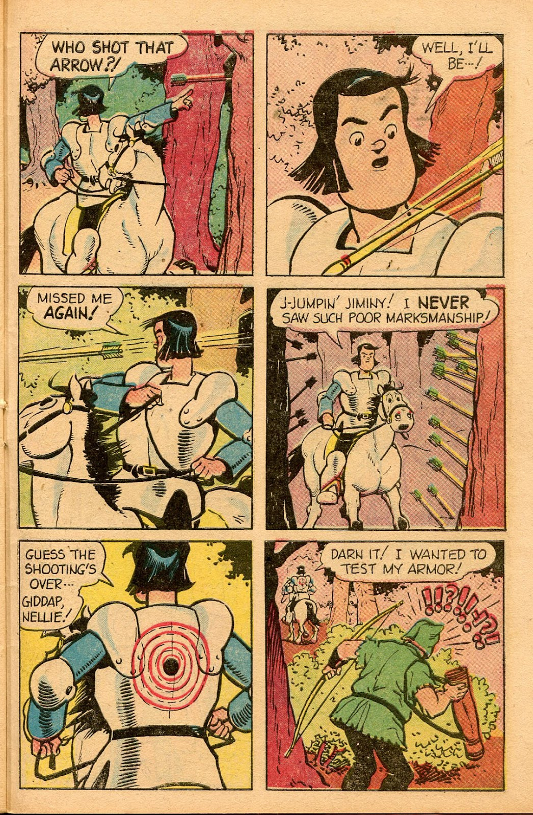 Read online Famous Funnies comic -  Issue #155 - 45