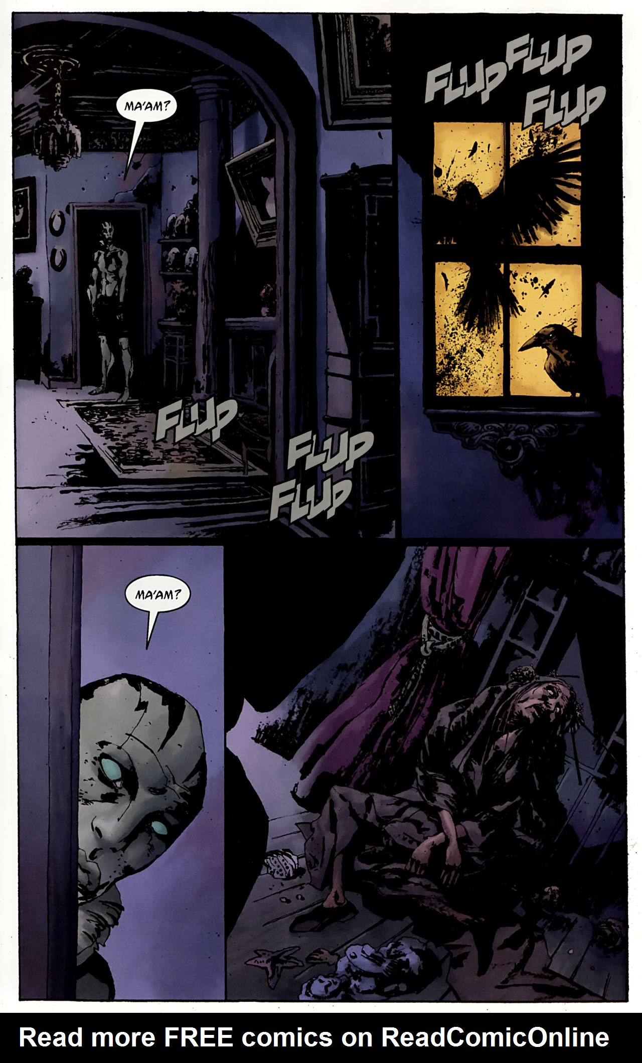 Read online Abe Sapien: The Drowning comic -  Issue #3 - 23