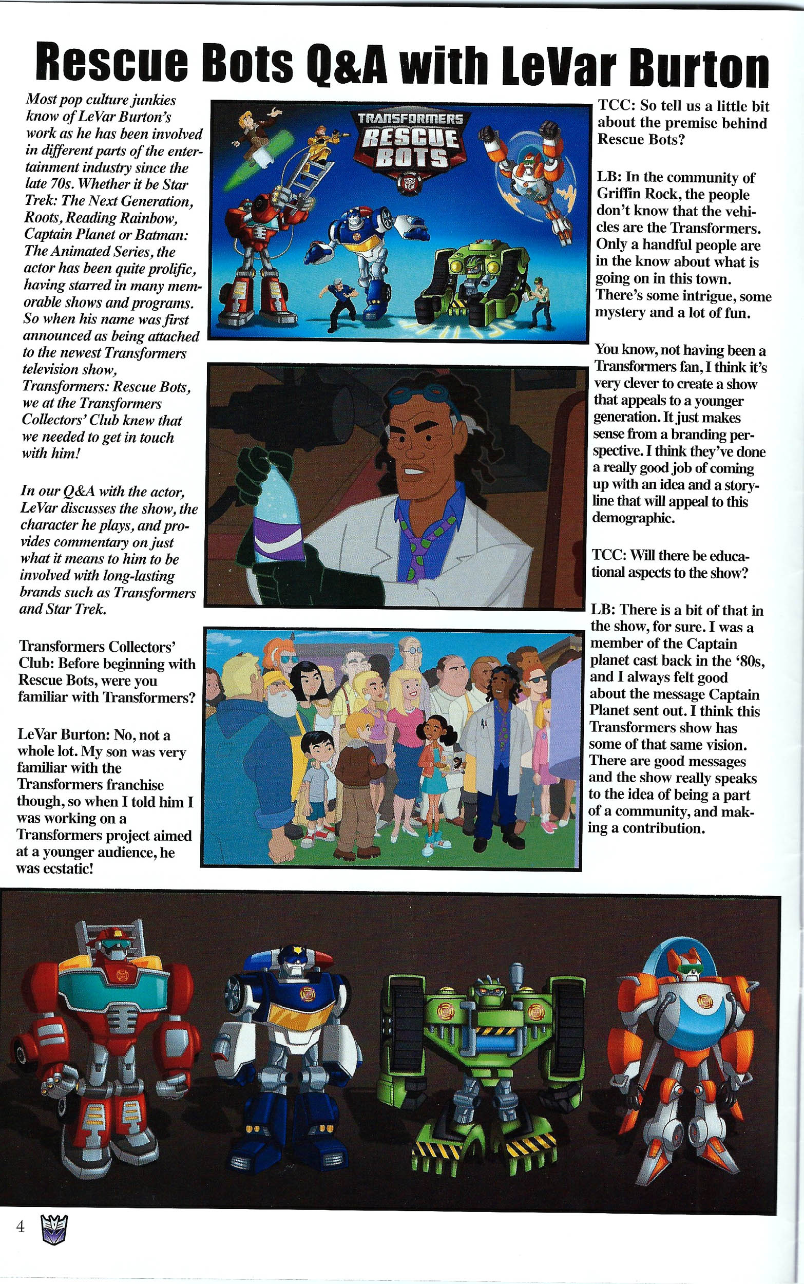 Read online Transformers: Collectors' Club comic -  Issue #43 - 4