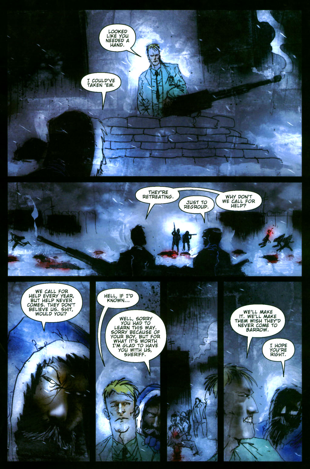 Read online 30 Days of Night: Return to Barrow comic -  Issue #4 - 19