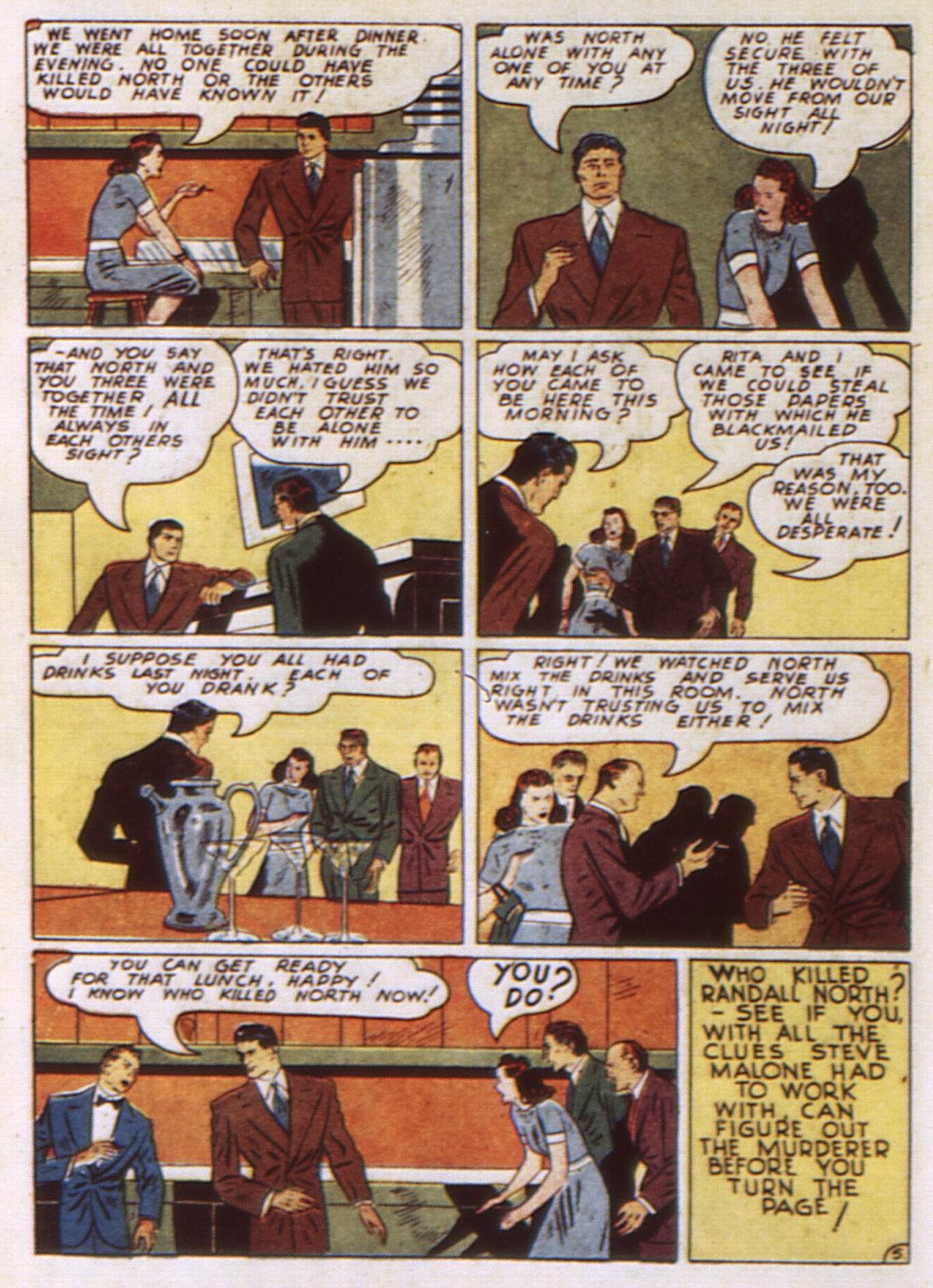 Read online Detective Comics (1937) comic -  Issue #52 - 56