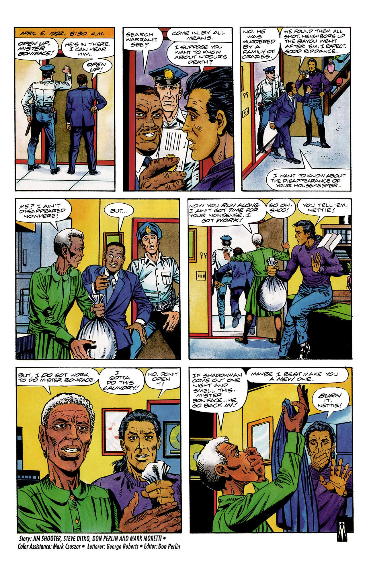 Read online Shadowman (1992) comic -  Issue #6 - 23