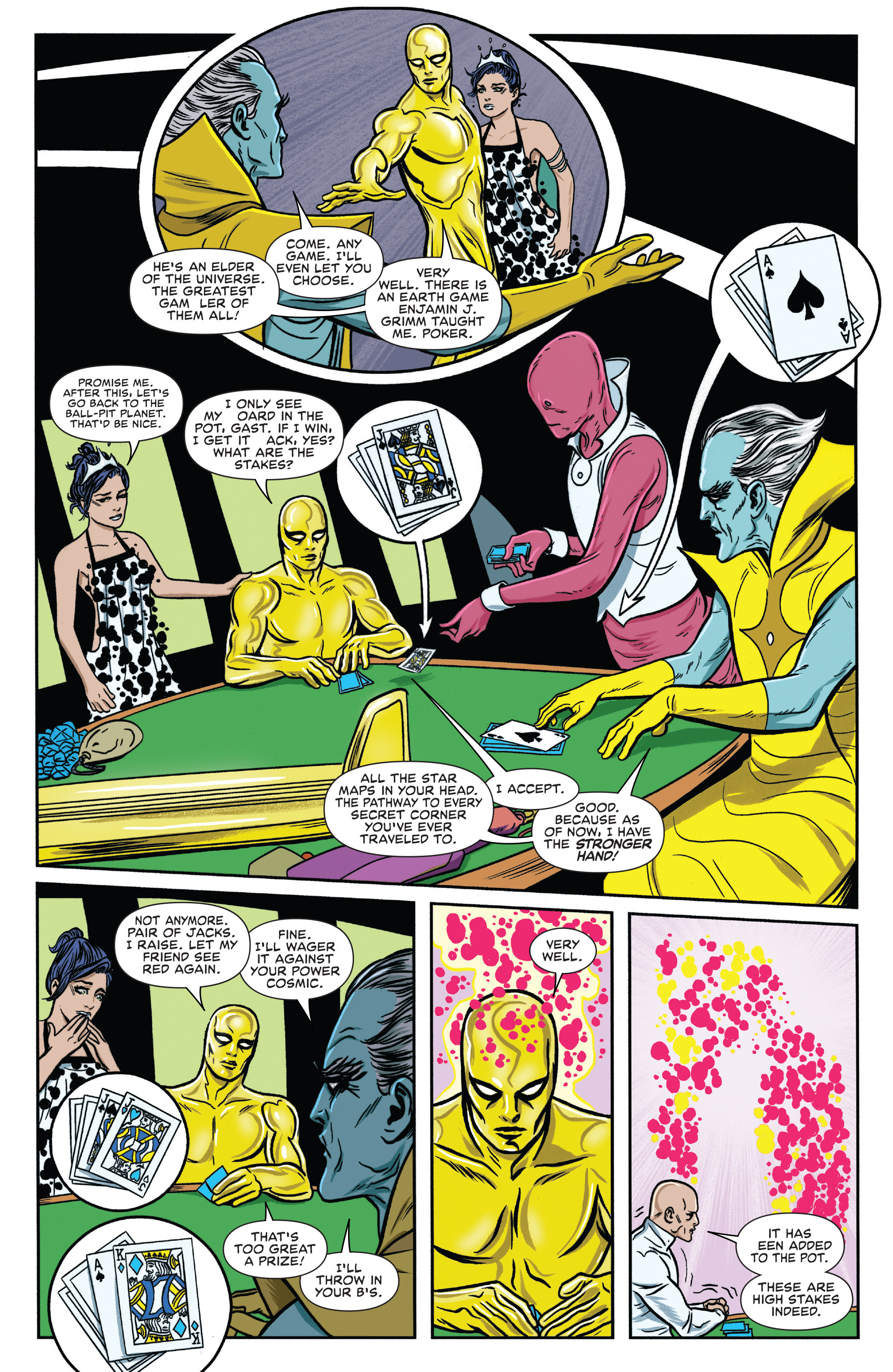 Read online Silver Surfer (2016) comic -  Issue #7 - 16
