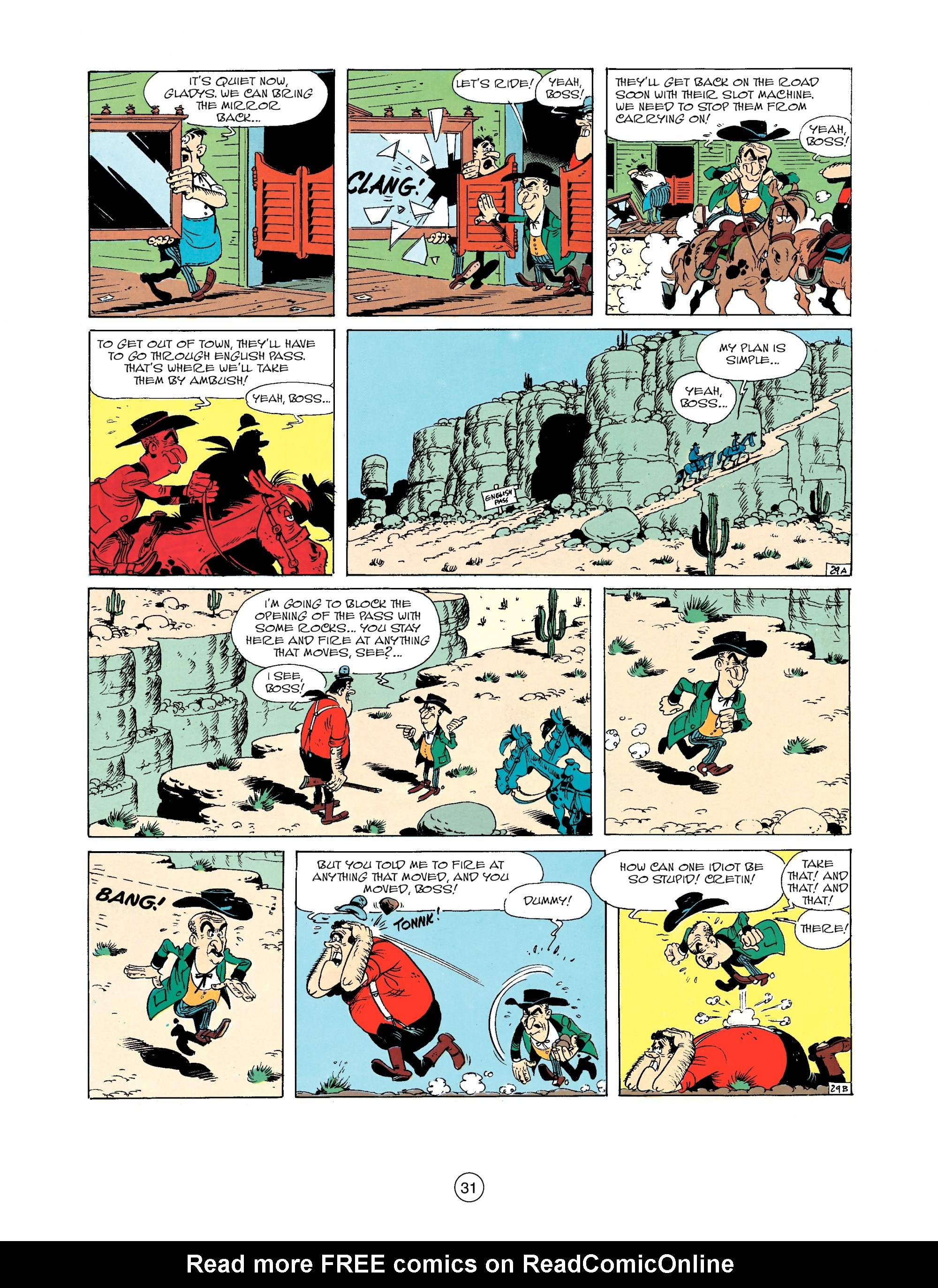 Read online A Lucky Luke Adventure comic -  Issue #33 - 31
