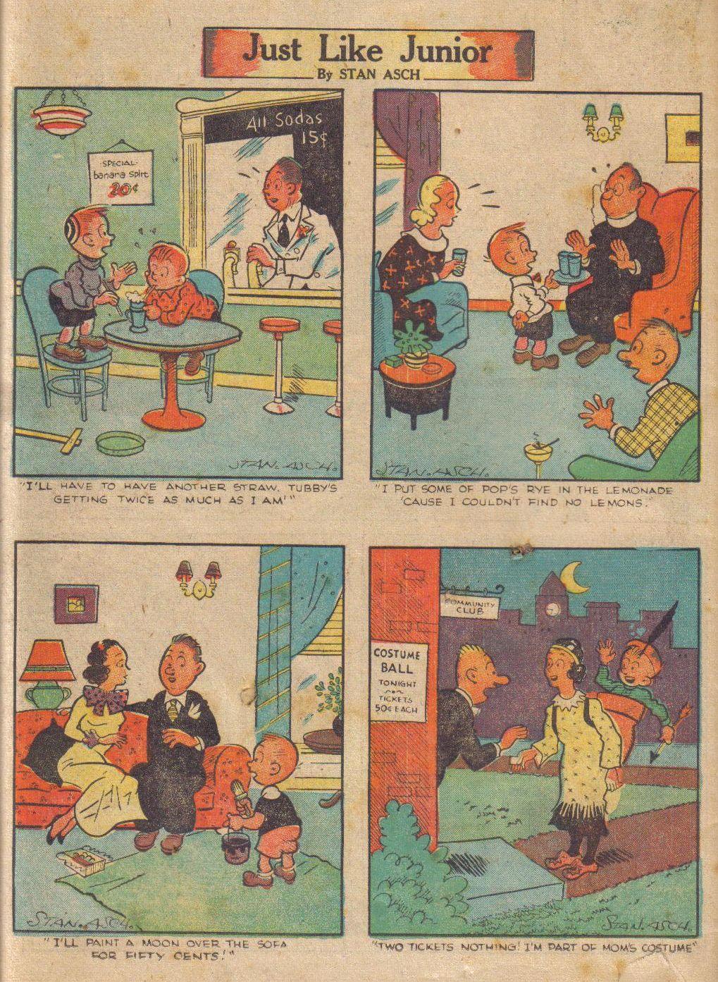 Read online Adventure Comics (1938) comic -  Issue #24 - 66